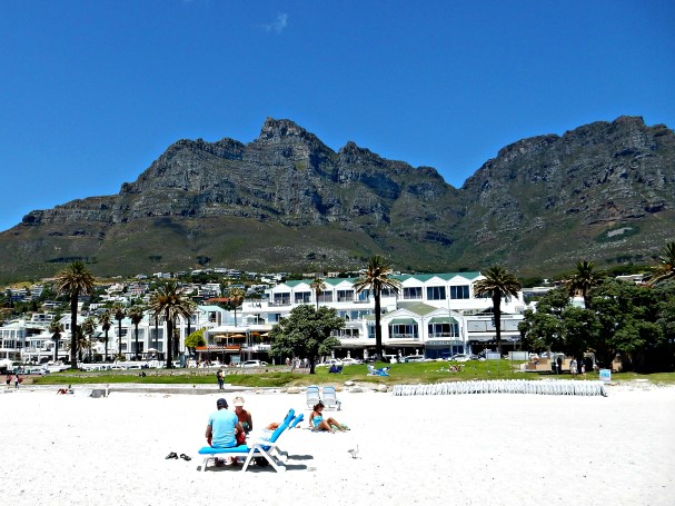 Camps Bay in South Africa