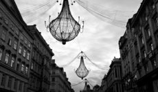Christmas Decorations in the Streets of Vienna