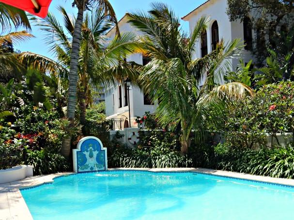 Oyster Box Hotel Garden Pool