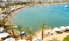 View of Sharm el-Sheikh in Egypt