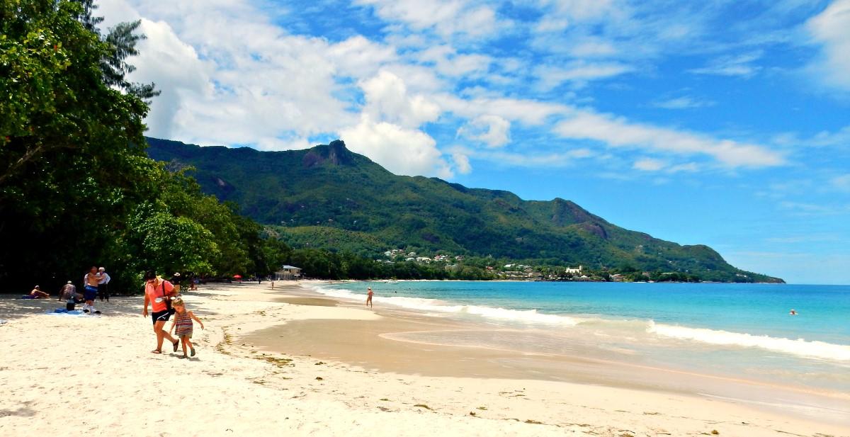 Beau Vallon Beach Mahé Island Seychelles