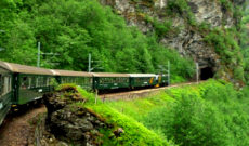 Riding the Flam-Myrdal Railway in Norway