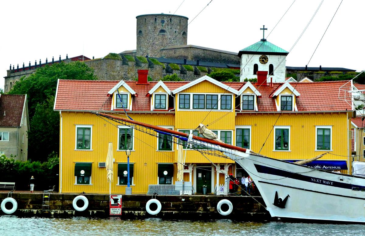 Marstrand in West Sweden