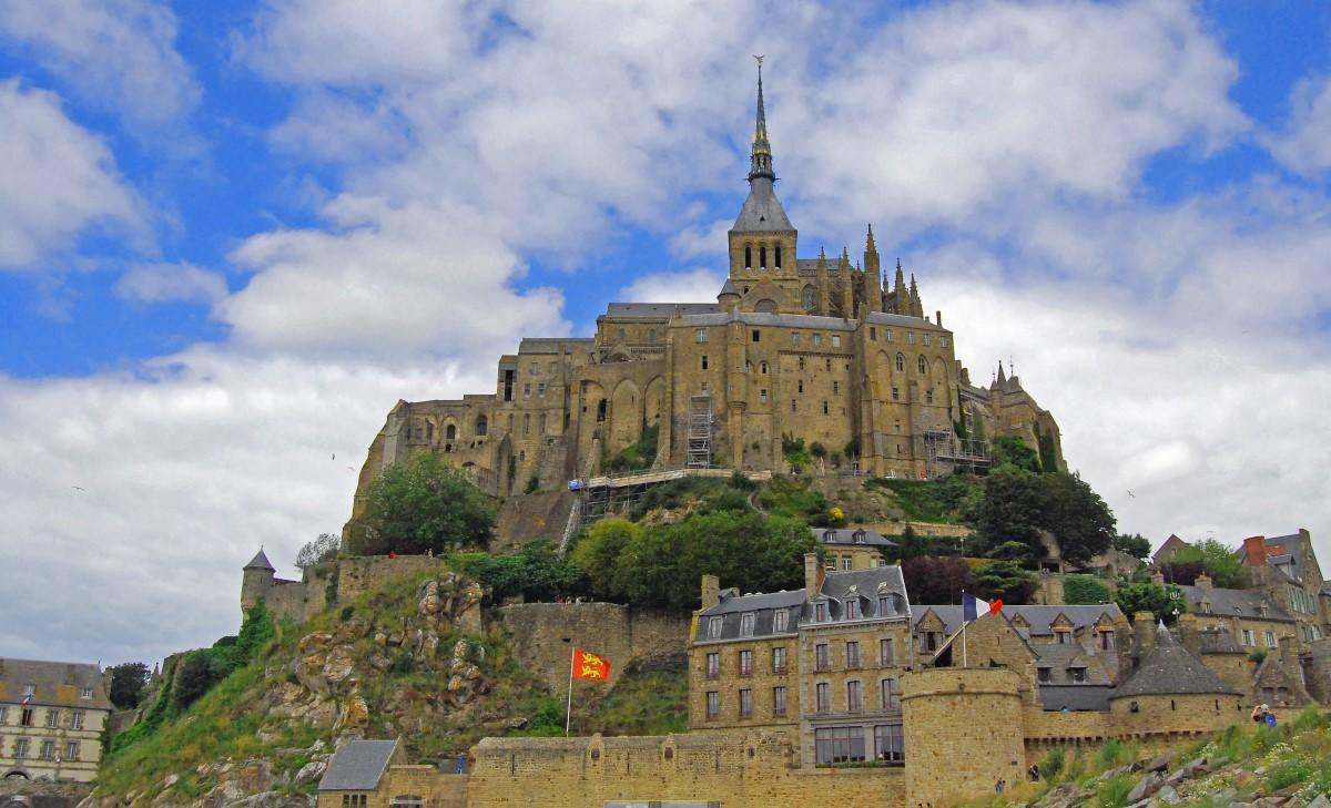 Mont-Saint-Michel in France