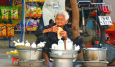 Street Vendor in Nha Trang, Vietnam