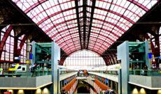Antwerpen-Centraal Station in Belgium