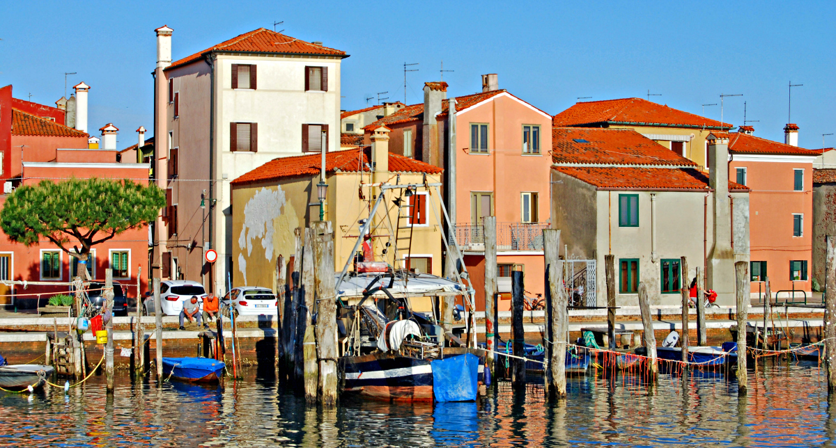 Chioggia in the Venetian Lagoon, Italy