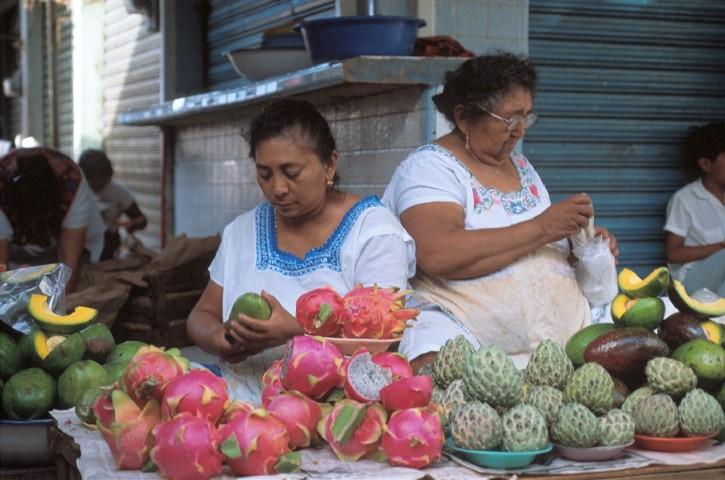 Mexico - Mayan Women at Market