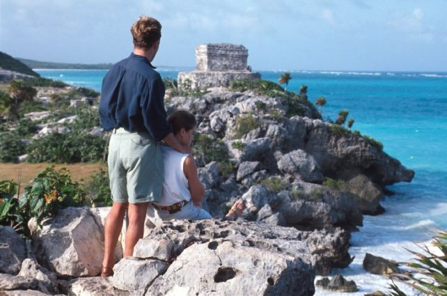 Tulum, Mexico - Overlooking the Sea