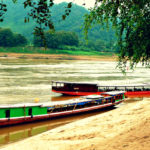 Cruising Along the Mekong River in Laos