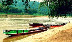 Cruising Along the Mekong River in Laos