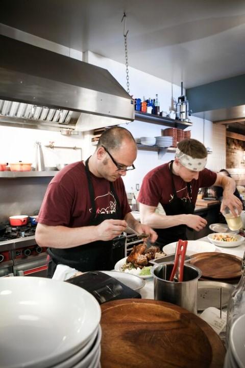 Cure Restaurant in Pittsburgh - Chef Justin Severino (photo credit Adam Milliron)