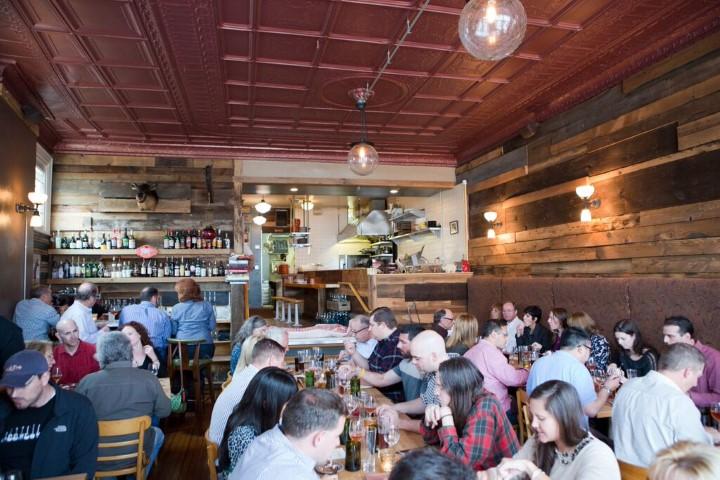 Cure Restaurant in Pittsburgh Interior (photo credit Adam Milliron)