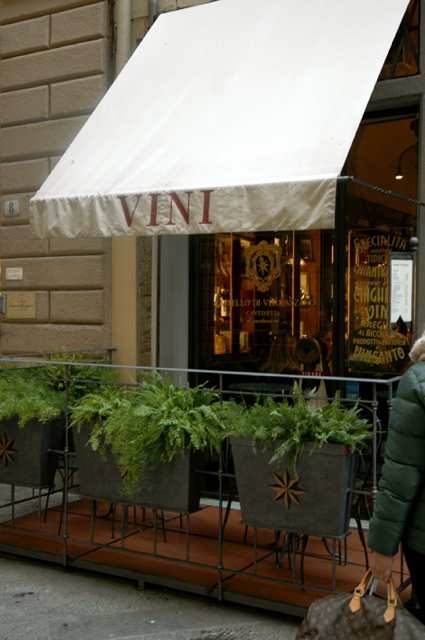 Vini Bar in Florence, Italy