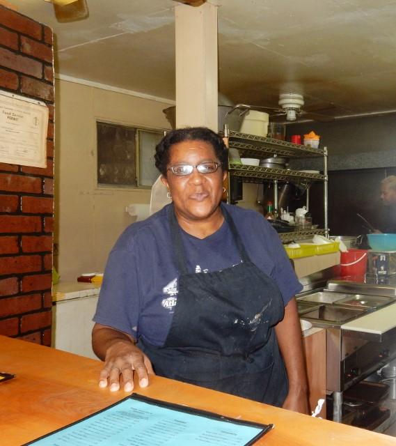 Miss Teresa of Wall's BBQ