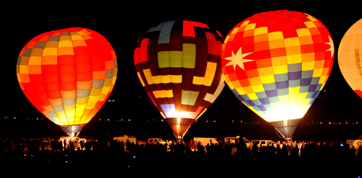 Glow Show at Great Reno Balloon Race 2015