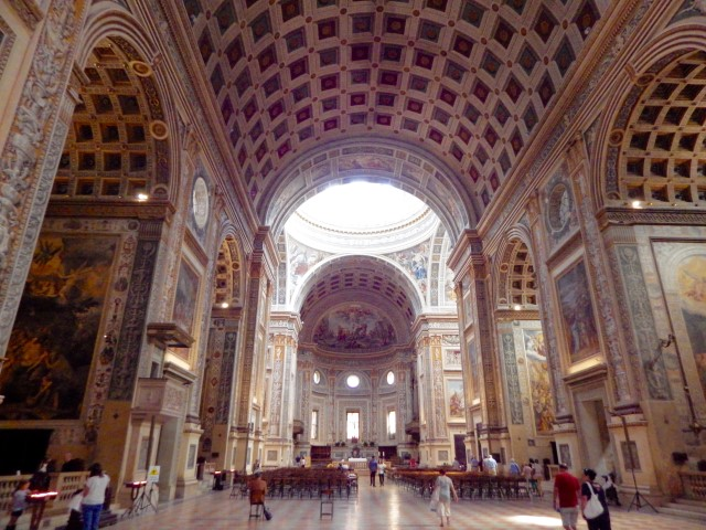 Basilica of Sant'Andrea in Mantua, Italy