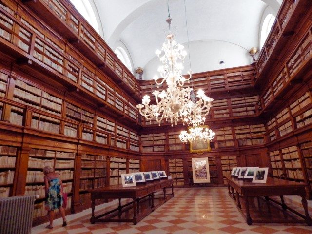 Library in Mantua, Italy