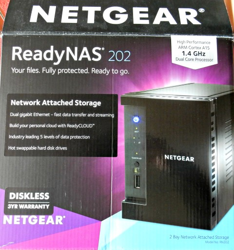 Netgear ReadyNAS 202 Review