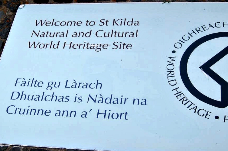 Welcome to St Kilda UNESCO Site