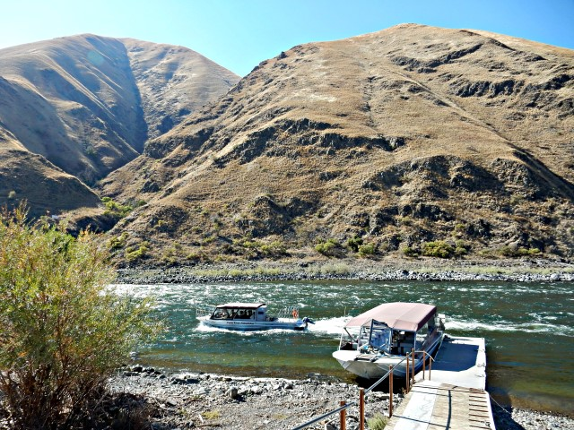 Jetboat ride on the Snake River with Un-Cruise Adventures