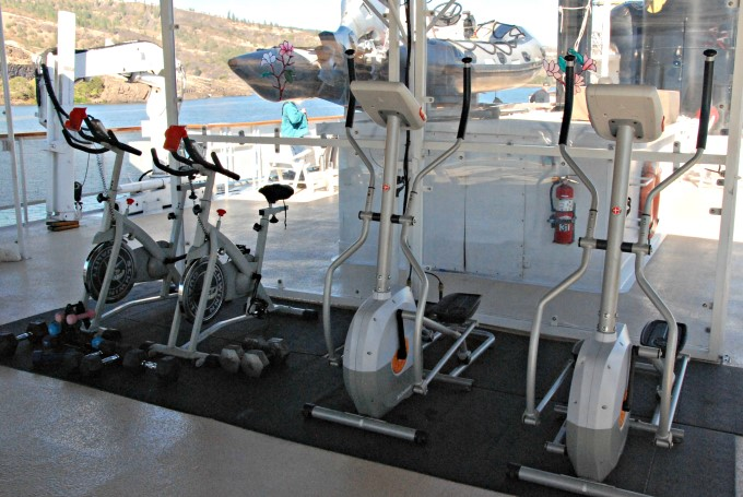 S.S. Legacy - Exercise Equipment on Deck 4