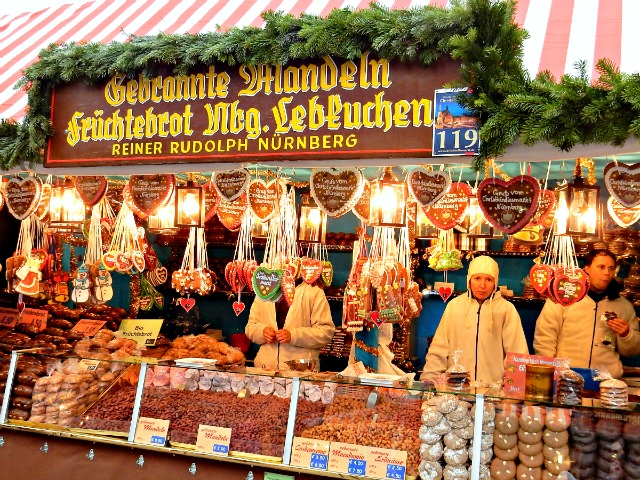 Edible Treats at Nuremberg Christmas Market