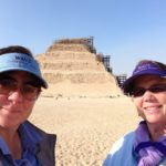 Viv and Jill in Cairo, Egypt