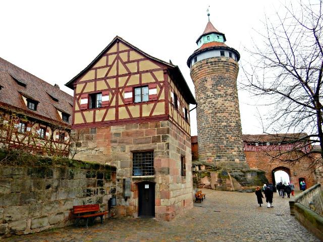 Nuremberg Castle - Sinwell Tower