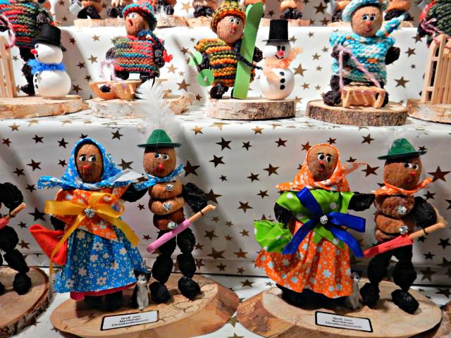 Prune People at Nuremberg Christmas Market