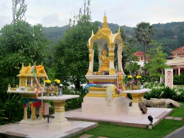 Shrine at Centara Grand Beach Resort Phuket