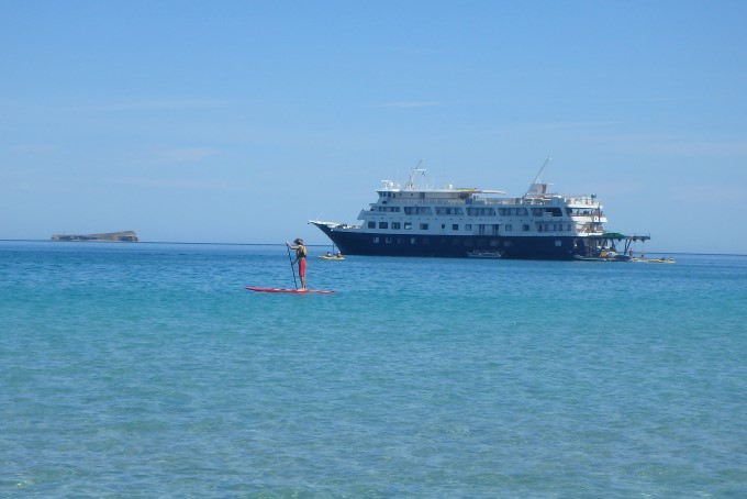 Paddleboard in the Sea of Cortes with Un-Cruise Adventures