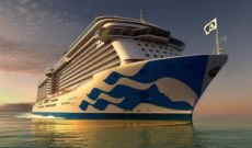 Majestic Princess Showcases New Fleetwide Hull Livery Design