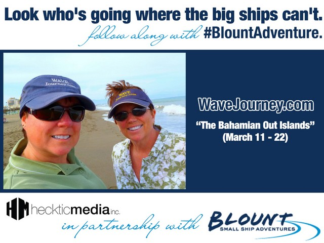 Blount Bahamas Cruise for WaveJourney