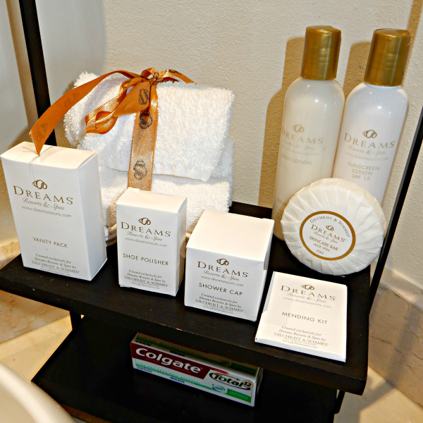 Dreams Los Cabos Bathroom Amenities