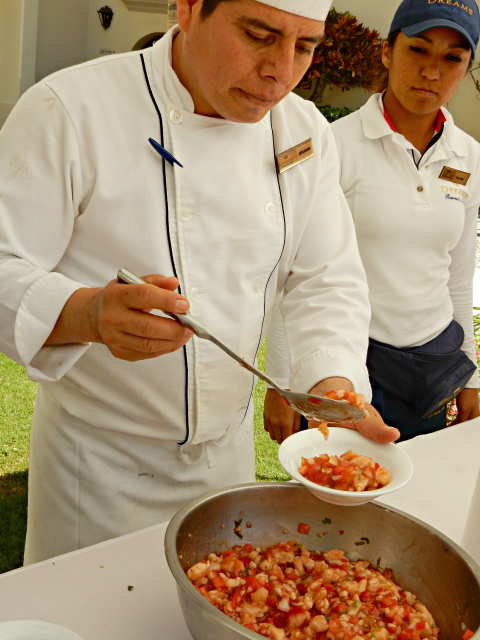 Dreams Los Cabos - Ceviche Cooking Class by the Infinity Pool
