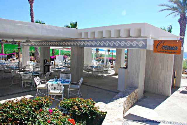Oceana Seafood Restaurant at Dreams Los Cabos Resort
