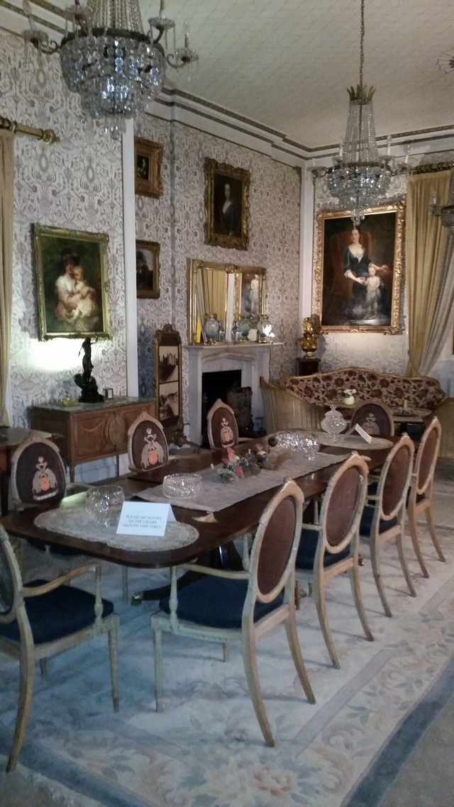Cabra Castle Dining Room