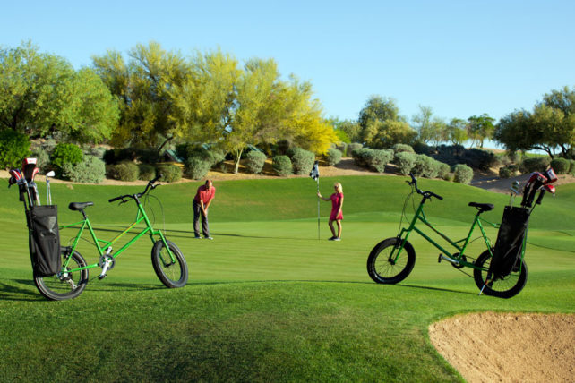 Kierland Resort Golf Bikes
