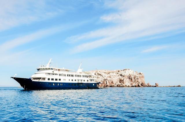 Safari Endeavour at Los Islotes