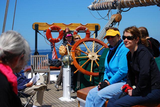 Schooner Zodiac - Nauti-Gals Cruise