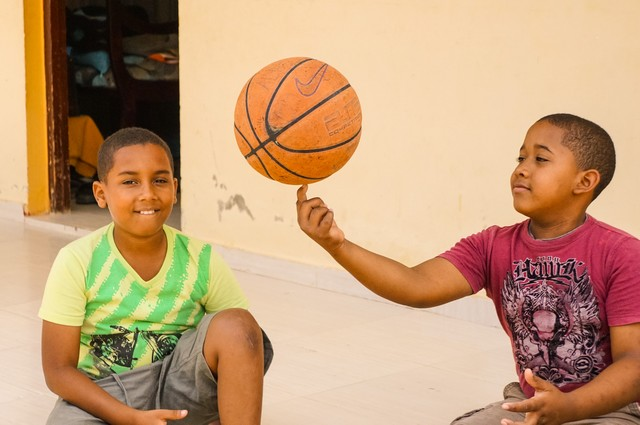 Kids in the Dominican Republic