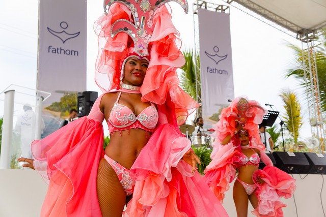 Welcoming Fathom Inaugural Cruise to the Dominican Republic