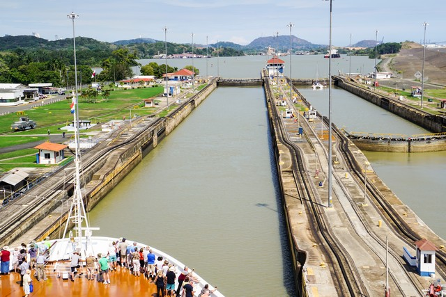 Panama Canal - Pedro Miguel Locks