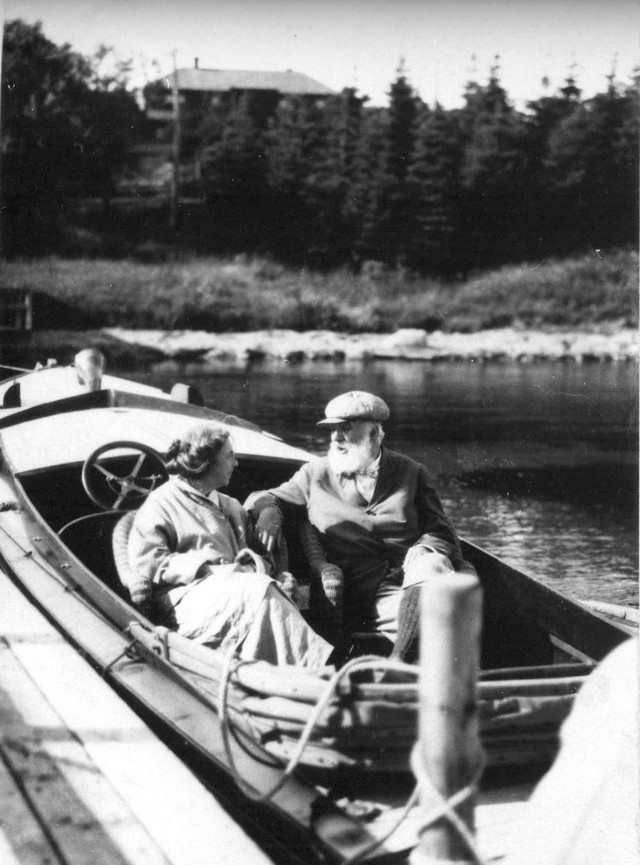 Cape Breton - Alexander Graham and Mabel Bell