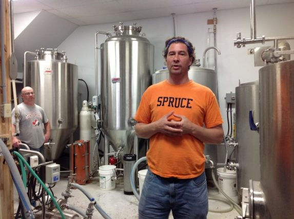 Cape Breton Big Spruce Brewery - Jeremy White, Owner and Creative Brewer