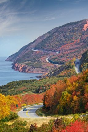 Cape Breton Cabot Trail - Touring in Fall