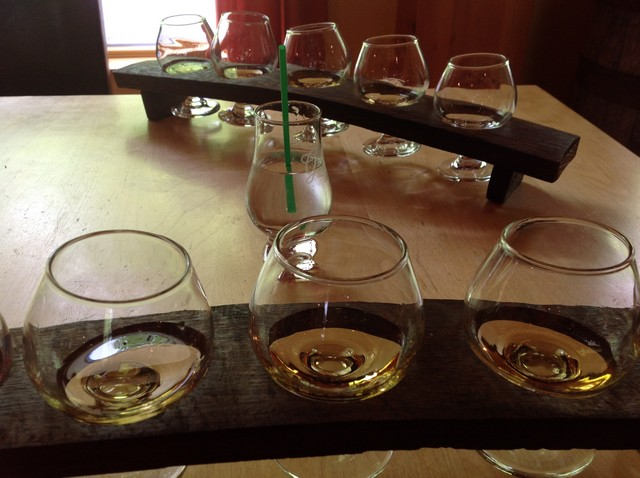 Cape Breton Glenora Distillery and Inn Whiskey Tasting