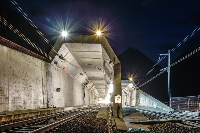 Gotthard Base Tunnel Photo Courtesy of Swiss Travel System