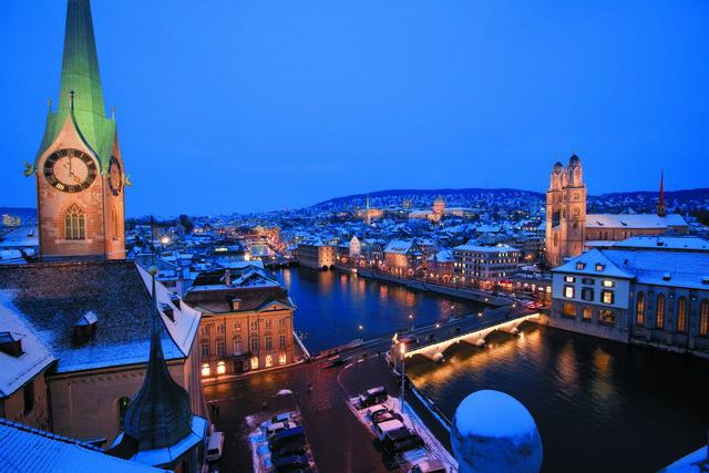 Zurich in Winter - Winter News from Switzerland